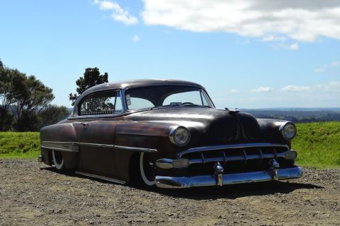 1954 CHEVROLET BELAIR SPORTS COUPE